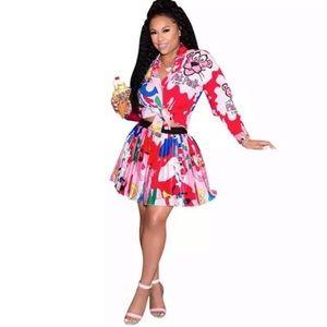 Pink Panther 2pc skirt set